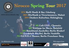 Sirocco Spring Tour 2017